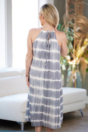 Tie Dye Midi Dress-Apparel-Cocoplum Boutique