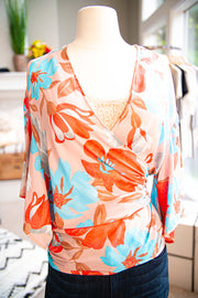 OWN THE SUMMER FLORAL TOP-Apparel-Cocoplum Boutique