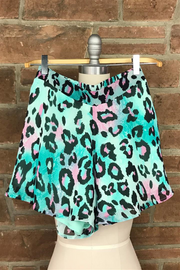 Animal Print Swing Short-Bottoms-Cocoplum Boutique