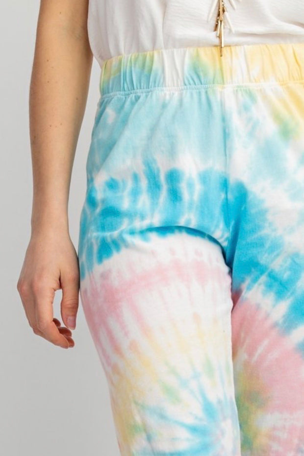 Tie Dye Joggers-Bottoms-Cocoplum Boutique