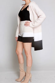Color Block Cardigan Set-Set-Cocoplum Boutique