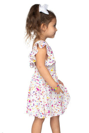 Girls Confetti Dress Mommy and Me-Kids-Cocoplum Boutique