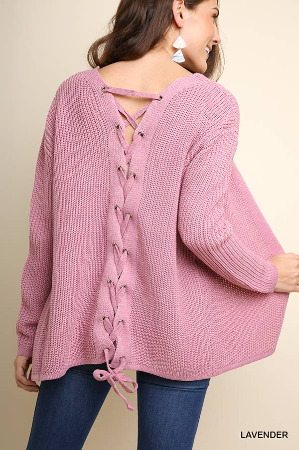 Lace-back Knit Cardigan-Apparel-Cocoplum Boutique