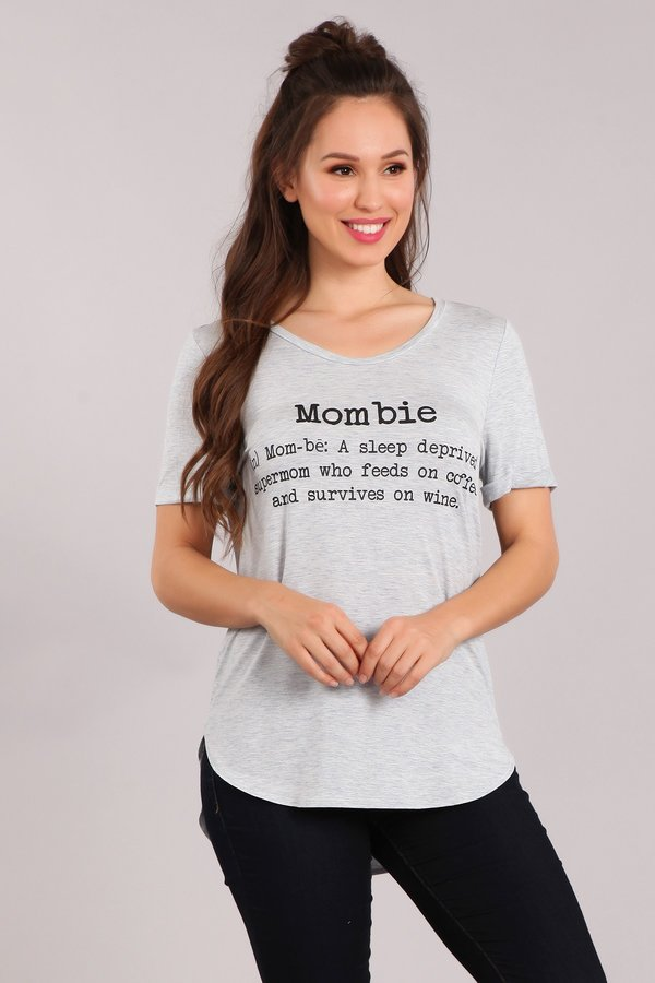 Mom Life Graphic Tee-Apparel-Cocoplum Boutique