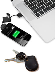 iPhone Data & Charger Keyring Cable