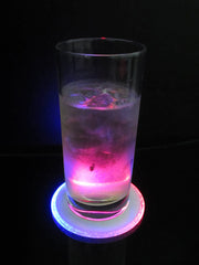 Led Colour Changing Coaster x 3