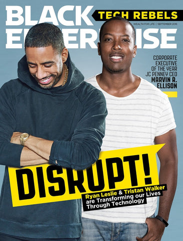 Ryan Leslie Black Enterprise Cover