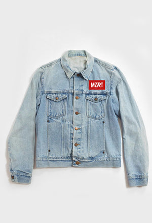 MZRT Washed Denim Jacket in Indigo