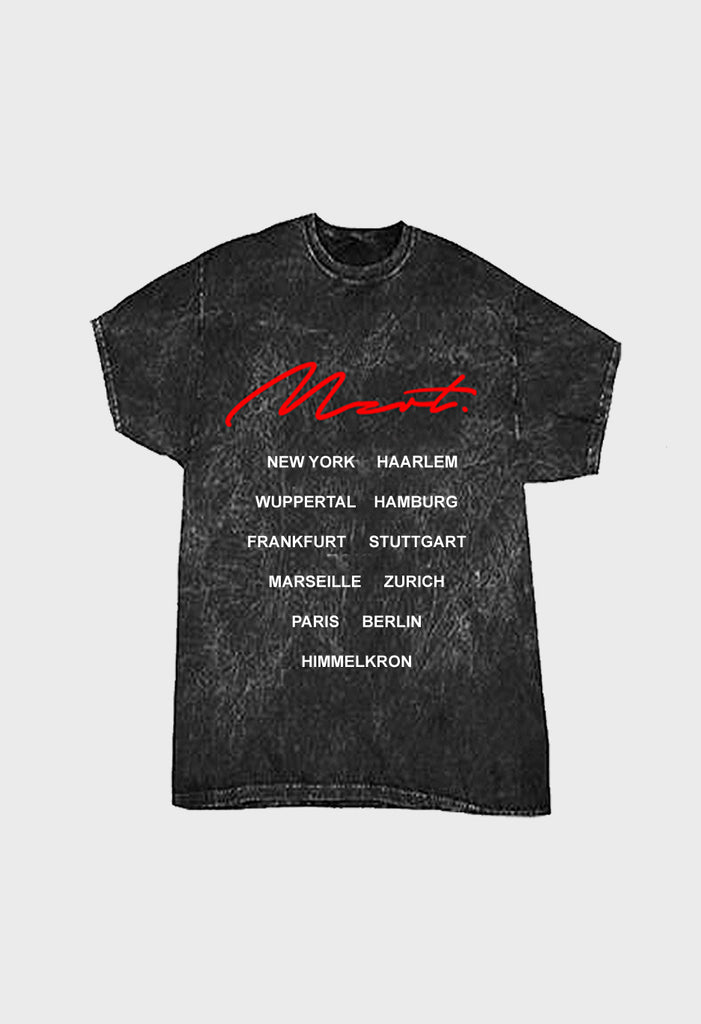 MZRT Vintage Washed Tour Tee