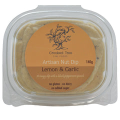 Ever wonder what the rave is about?  Well aside from being very flavourful, this dip has a creamy rich texture that people love as a great alternative to sour cream with the added bonus of health benefits - heart healthy nuts, no trans fat and 0 sugar!