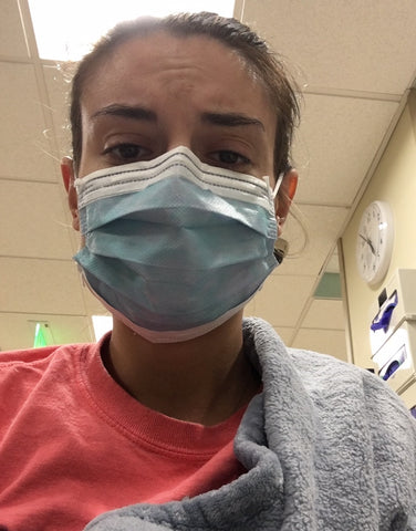 Nicole Crohn's Disease takes over at hospital