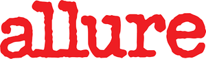 Logo of Allure in red.