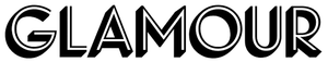 Logo of Glamour in black and white.