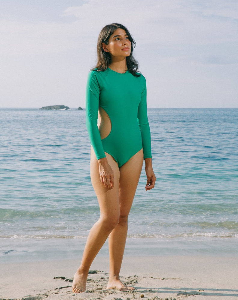 Anna Long Sleeves One Piece