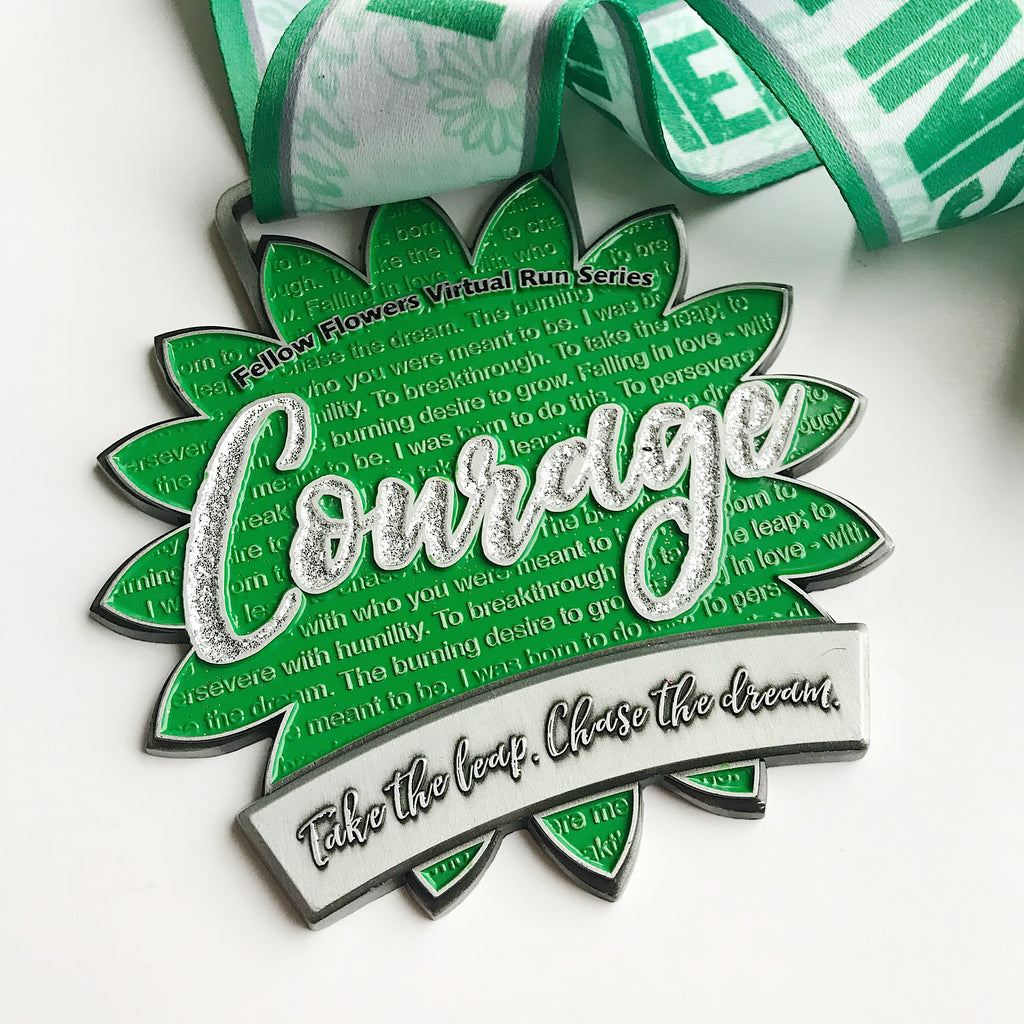 COURAGE Virtual Run is LIVE!