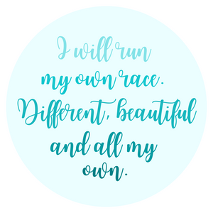 Run my Own Race Sticker