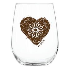 Load image into Gallery viewer, FFCrew Heart Wine Glass