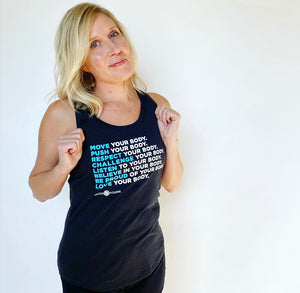 Move Your Body Racerback Tank
