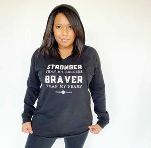 Stronger than My Excuses Hoodie