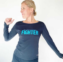 Load image into Gallery viewer, Fighter Long Sleeve Tech Tee