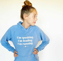 Load image into Gallery viewer, I'm Speaking Unisex Hoodie