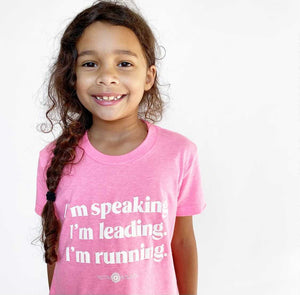Youth I'm Speaking Tee- Two Colors