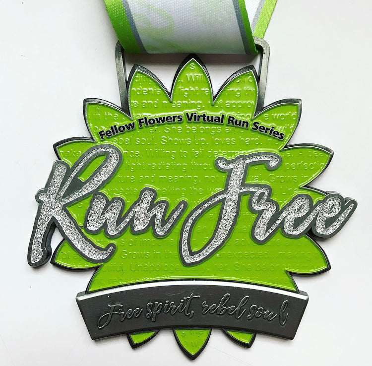 WILDFLOWER Virtual Run - Medal Package