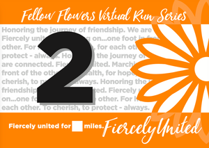 FIERCELY UNITED Virtual Run - Medal Only Package