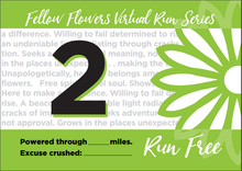 Load image into Gallery viewer, WILDFLOWER Virtual Run - Medal Package