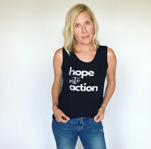 Load image into Gallery viewer, Hope Into Action Sleeveless Top