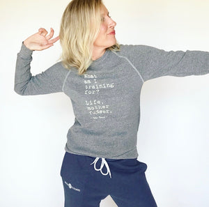Training for Life Sweatshirt – Grey