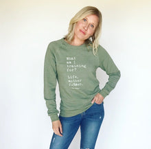 Load image into Gallery viewer, Training for Life Sweatshirt – Green