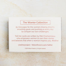 Load image into Gallery viewer, Tell Her - The Warrior Collection