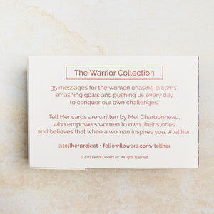 Tell Her - The Warrior Collection