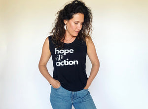Hope Into Action Sleeveless Top