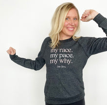 Load image into Gallery viewer, My Race Fleece Sweatshirt