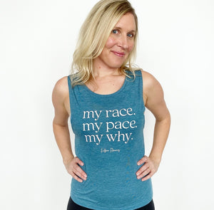 My Race Muscle Tank
