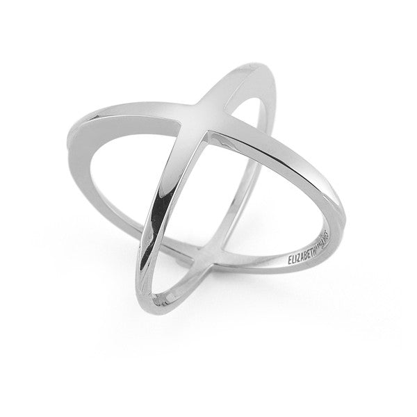 Windrose Ring in Silver