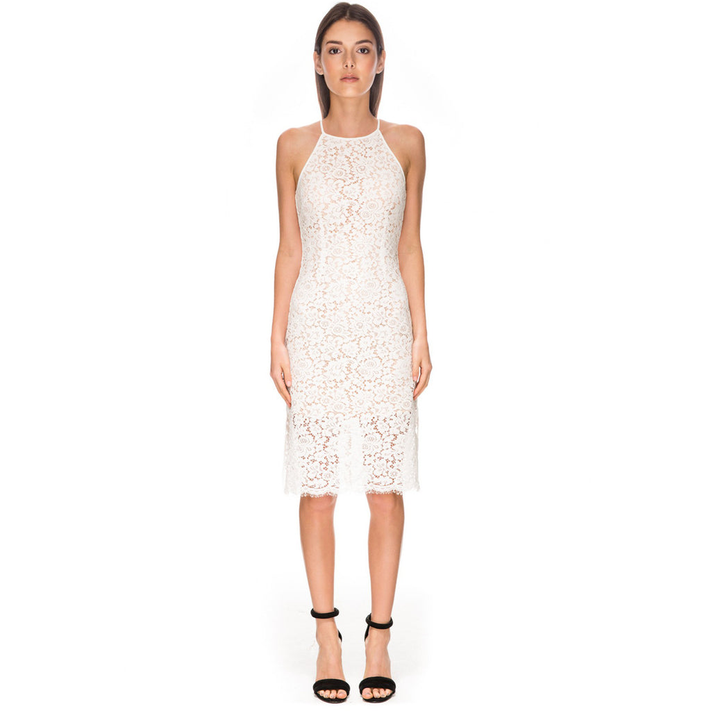 let it happen lace dress