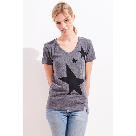 stars rotated seam tee