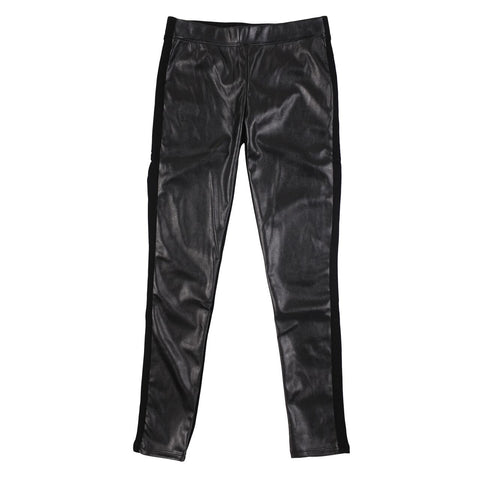 Tractr pull on pleather skinny jeans