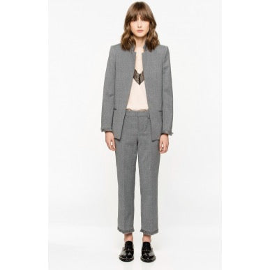 volly fringe blazer