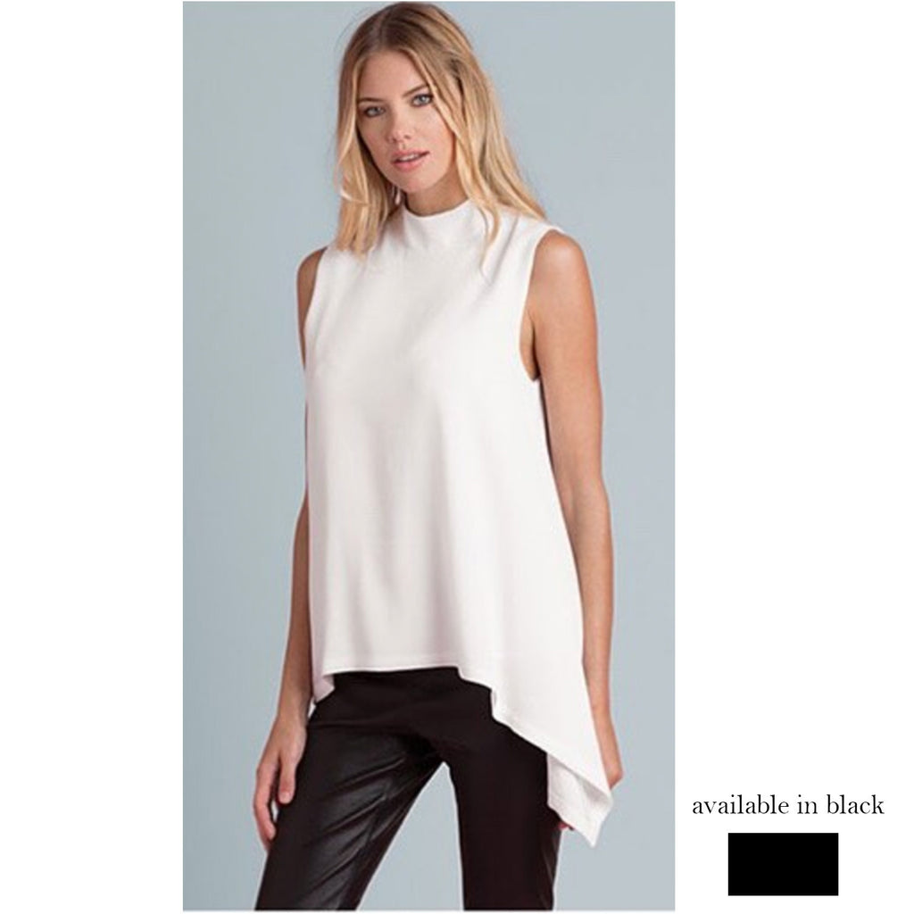 slvls highneck flowy top