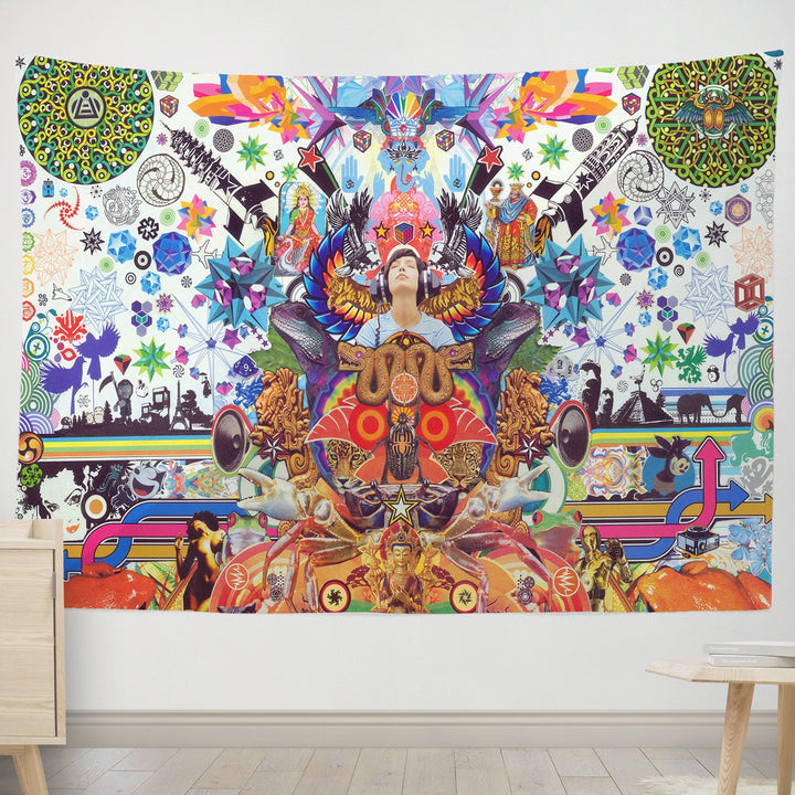 Birth Of A Moment Tapestry