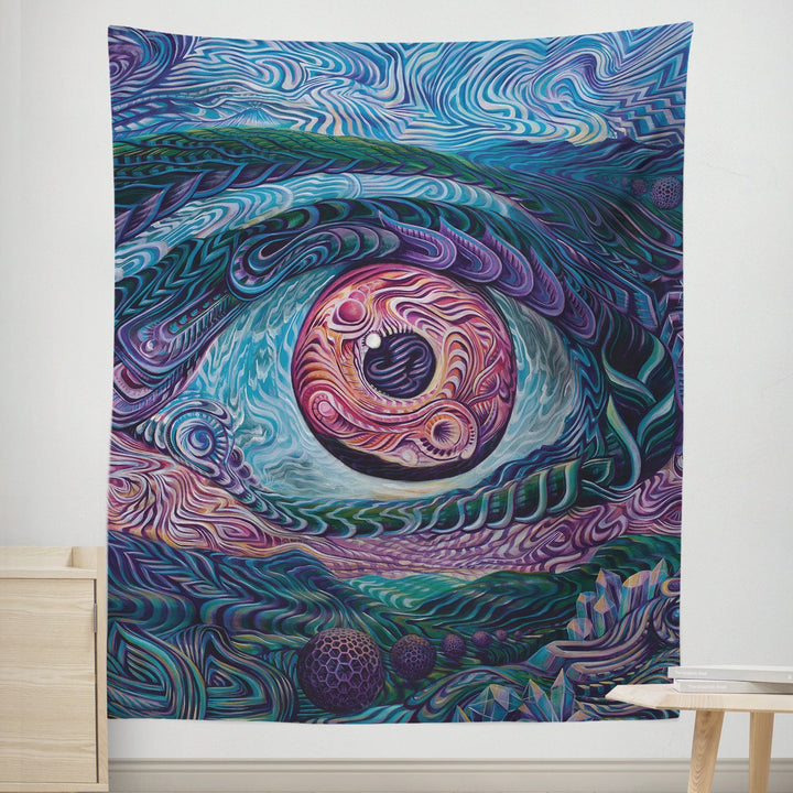 Infinite Perspective Tapestry