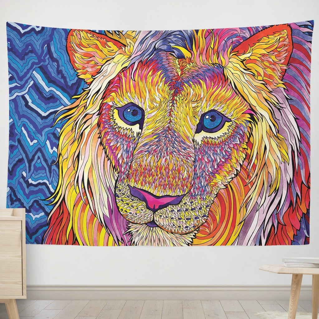 Kaleidoscope King Tapestry
