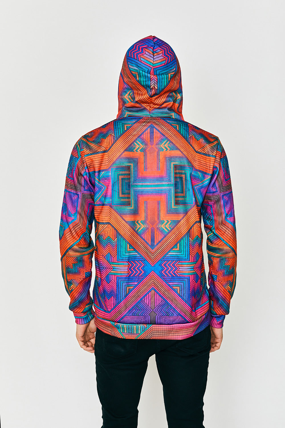 Non-Linear Thinking Fire Hoody