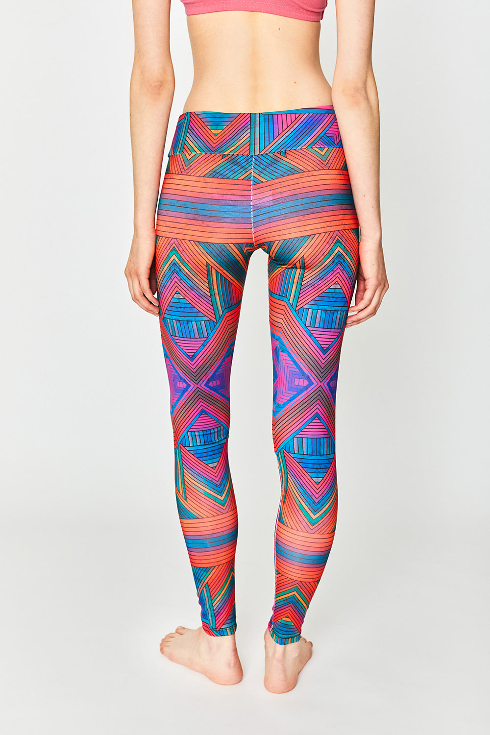 Non-Linear Thinking Fire Leggings