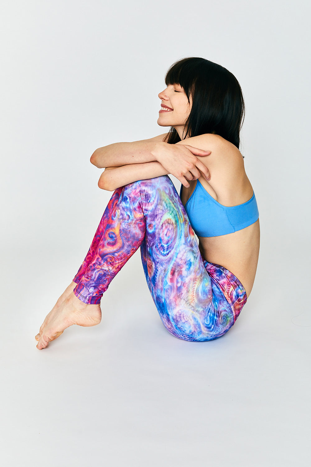 Spiraling Strings Leggings