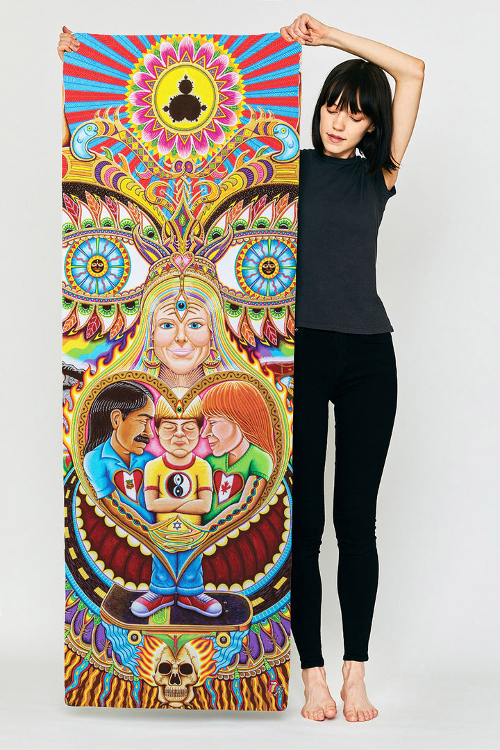 God of Healing Yoga Mat